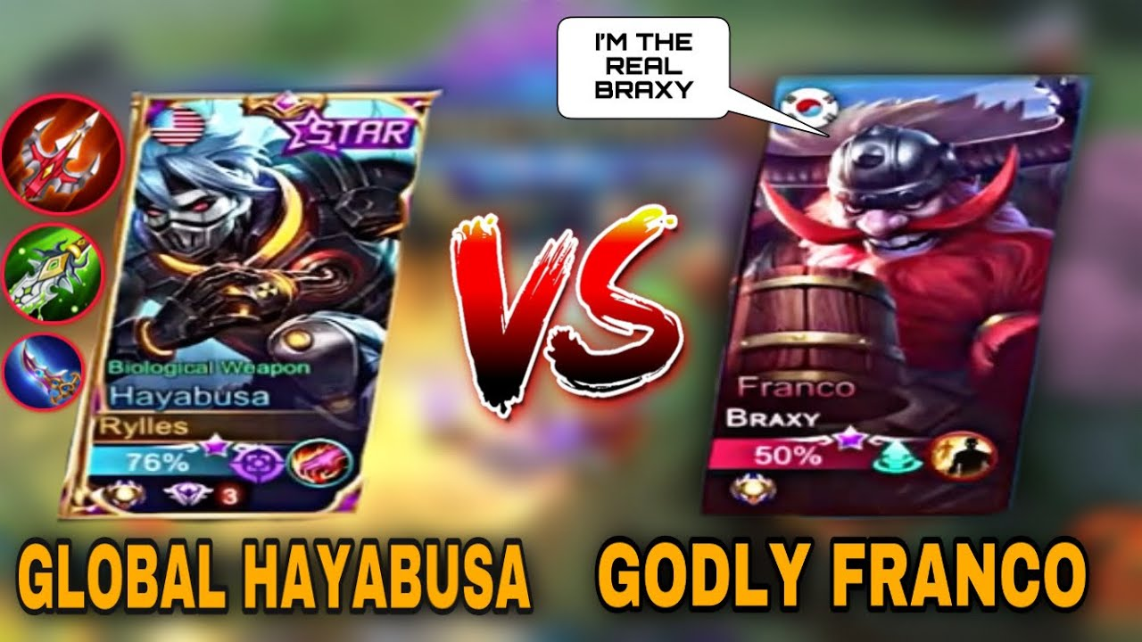 FAKE BRAXY? THIS IS WHAT YOU SHOULD DO AGAINST FRANCO! Mobile Legends