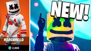 *NEW* FORTNITE X MARSHMELLO SKIN PACK RELEASING! NEW FORTNITE SKIN BUNDLE!