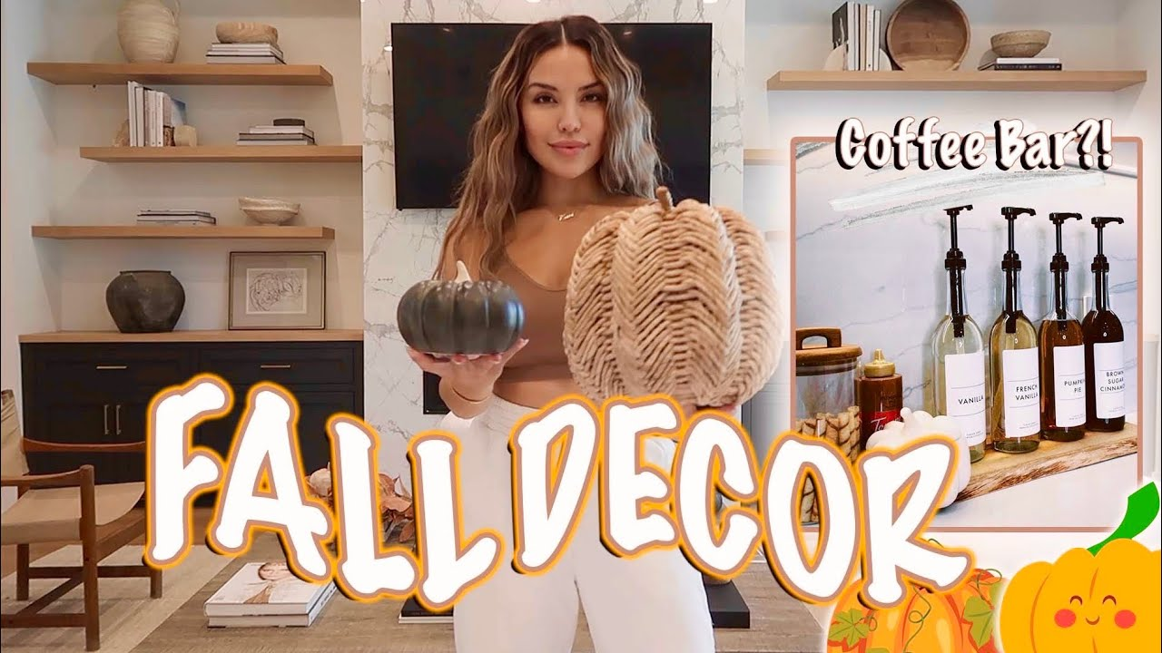 Download DECORATE WITH ME | FALL HOME DECOR 2021| iluvsarahii