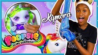 EEN UNICORN DIE SLIJM POEPT? Dat gaat Kymora in deze video uitteste...