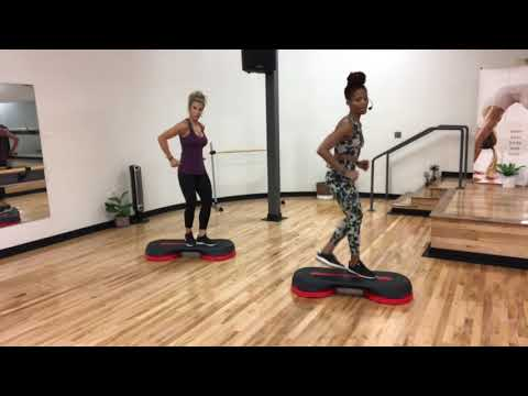 37 Minute Cardio Step: Advanced Level Step Workout with Karla Luster