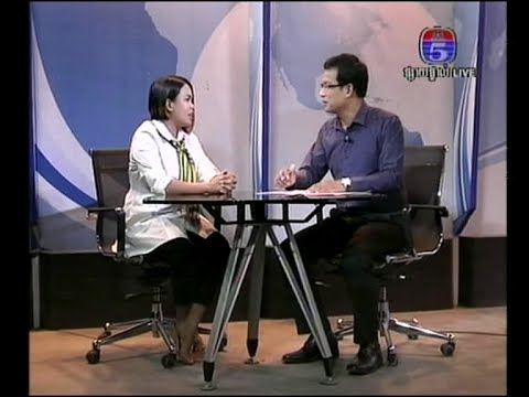 BUN Channimol director of Short Film Papa interview with TV5