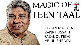 Magic Of Teen Taal | Audio Jukebox | Instrumental | Classical | Zakir Hussain