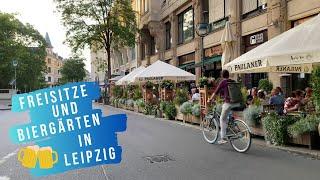 Freisitze und Biergärten in Leipzig