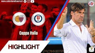 Coppa Italia 2018-19 Catania-Como 3-0