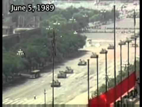 Tiananmen Massacre Circa 1989. Tank Man  Arrested Then Executed by Chinese Authorities.wmv