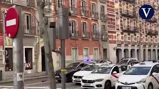 Espectacular persecución policial a toda velocidad por el centro de Madrid