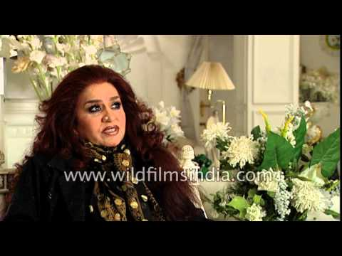 Beauty queen of India - Shahnaz Husain speaks about her Herbals empire