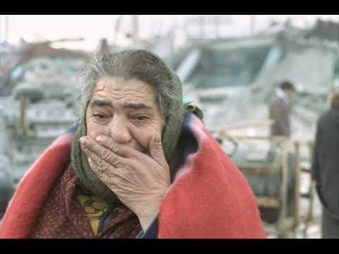 памяти жертв землятресения в Армении 7 декабря 1988 год