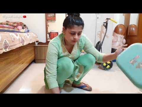 Indian housewife full morning cleaning routine 🏡 आप भी देख लो मेरे घर के सामने ये क्या होने लग गया🏡