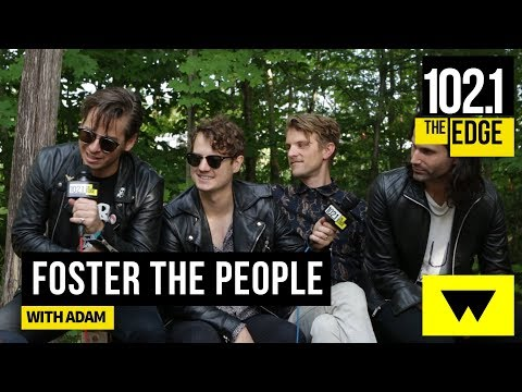 Foster The People with Adam #EdgeAtWayHome