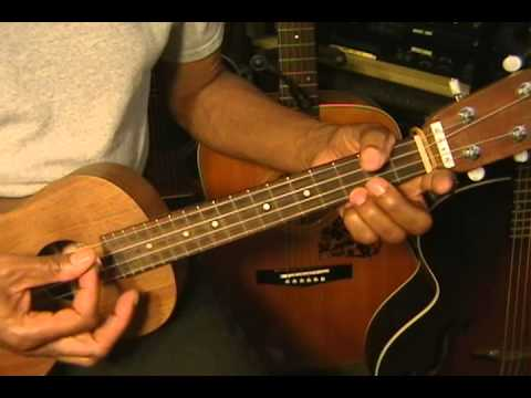 How To Play Hawaiian Reggae IZ Style Ukulele Strumming Pattern Lesson