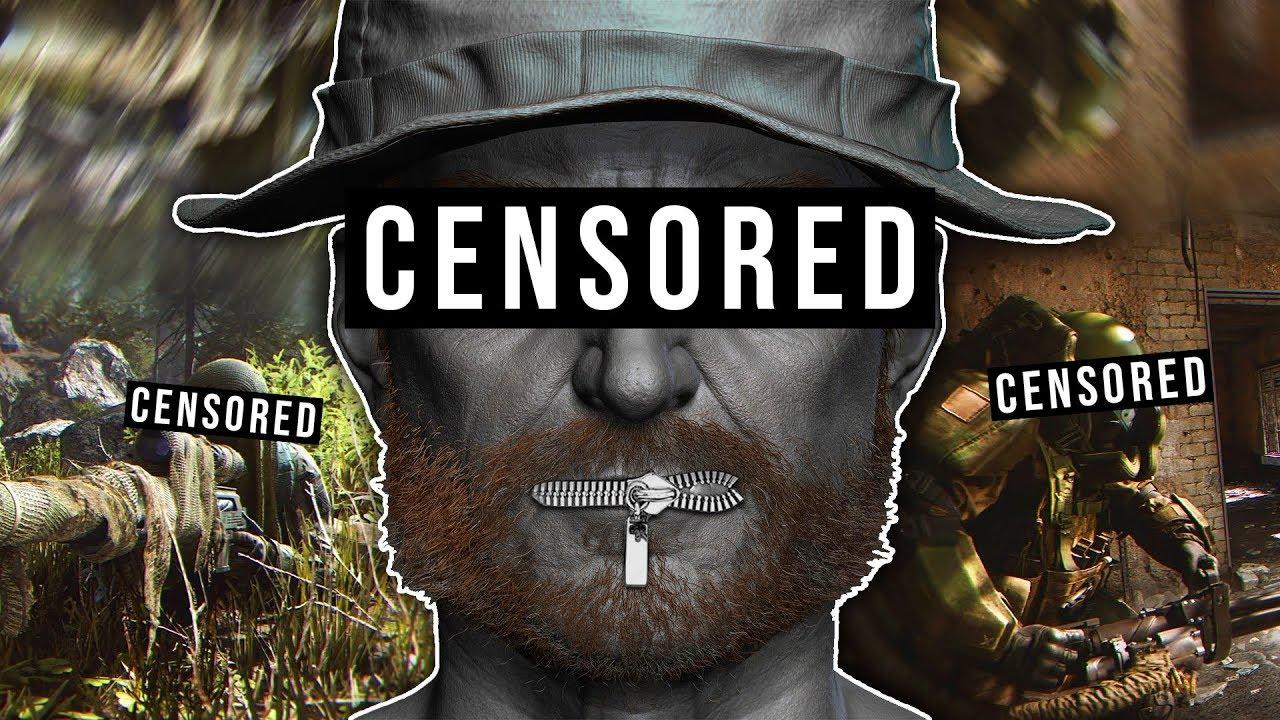 Call of Duty: Moderne Kriegsführung wird zensiert !? + video