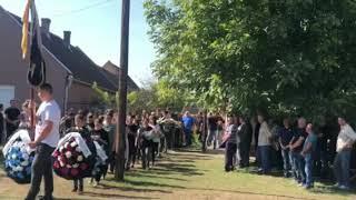 Krenula tužna povorka na sahrani oca Duška Tošića