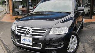 07年 VWトゥアレグ V6シュトルツ ワンオーナー HDDフルセグナビ