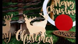 Pernak Pernik Natal dari Kayu dan Akrilik