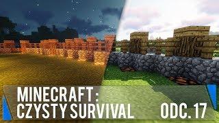 Oświetlenie dzień-noc i ścieżki (Minecraft: Czysty survival #17)