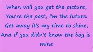 Glee The boy is Mine with lyrics