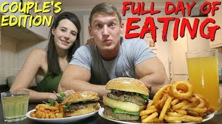 FULL DAY OF EATING - COUPLE'S EDITION! | What We Ate Today