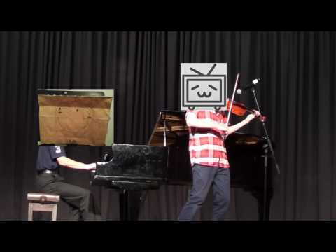 AIC Talent show violin and piano performance Senbonzakura