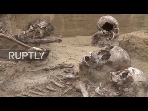 Poland: Screaming skeletons of Russian soldiers unearthed from former battlefield