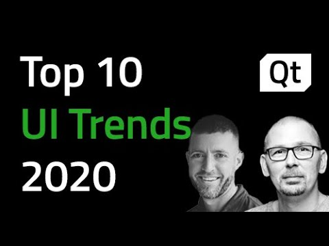 Top 10 User Interface Trends 2020 {On-demand webinar}