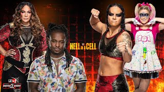 Voodoo at WWE Hell in a Cell with Alexa, Nia, Shayna & the star of WWE, Reginald: Bryan & Vinny Show
