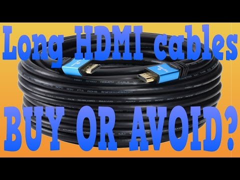 Are long HDMI cables any good?