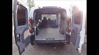 Переоборудование микроавтобуса Обшивка авто FIAT Scudo Фиат Скудо2010 своїми руками м Нововолинськ(, 2015-12-20T09:08:50.000Z)