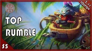 [5.11] League of Legends: Rumble vs Jayce Top (LoLPoV)