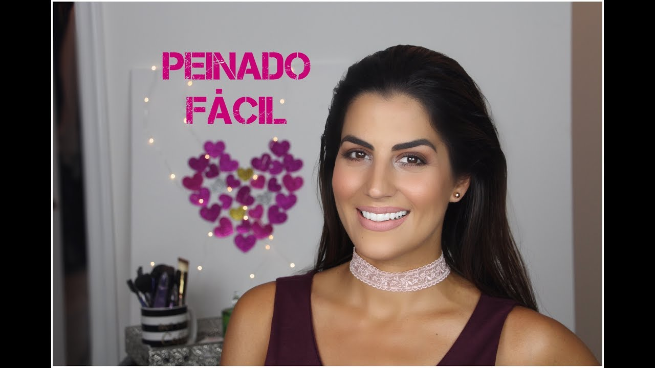 Peinado hacia atras - Wet look - YouTube