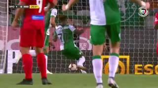 Goal | Golo Raphinha: Sporting (1)-0 Marítimo (Allianz CUP #1)