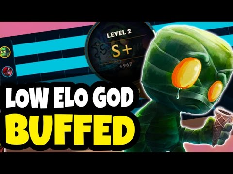 THE BEST JUNGLER FOR LOW ELO JUST GOT BUFFED? - Amumu Jungle HARD CARRY Gameplay