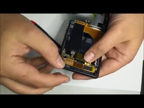 Worlds First Real Sony Xperia Z3 Teardown & Screen Replacement Tutorial