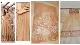 Amazon gown|unboxing &reviews|amazon clothing review|online shopping review|partywear anarkali