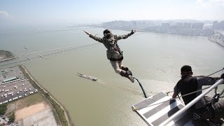 Macau Tower Jump: Will you step? Or will you leap?