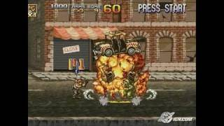Metal Slug 4 PlayStation 2 Gameplay_2004_09_28_2