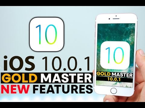 iOS 10 GM Released! 5+ New Features & Changes Review