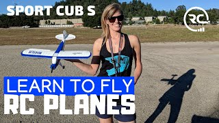 LEARN TO FLY RC PLANES: Sport Cub S beginner's guide