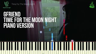 [Tutorial Piano] GFRIEND - Time for the moon night