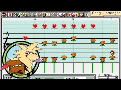 Angry Beavers Theme Song - Mario Paint