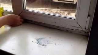 Как легко очистить пластиковое окно
