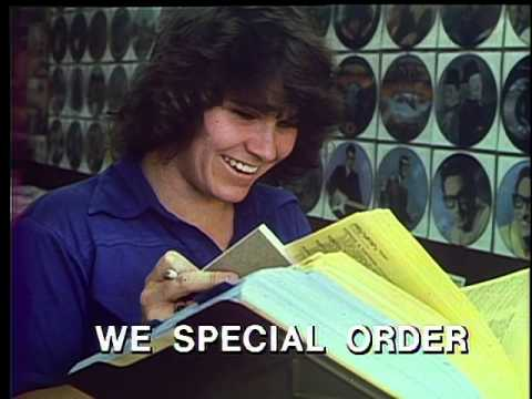 Vintage Randy's Records Commercial