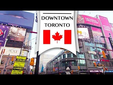 Downtown Toronto|Travel Canada Guide 加拿大多倫多旅遊日記