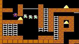 Championship Lode Runner (NES 8-Bit) - Gameplay #1