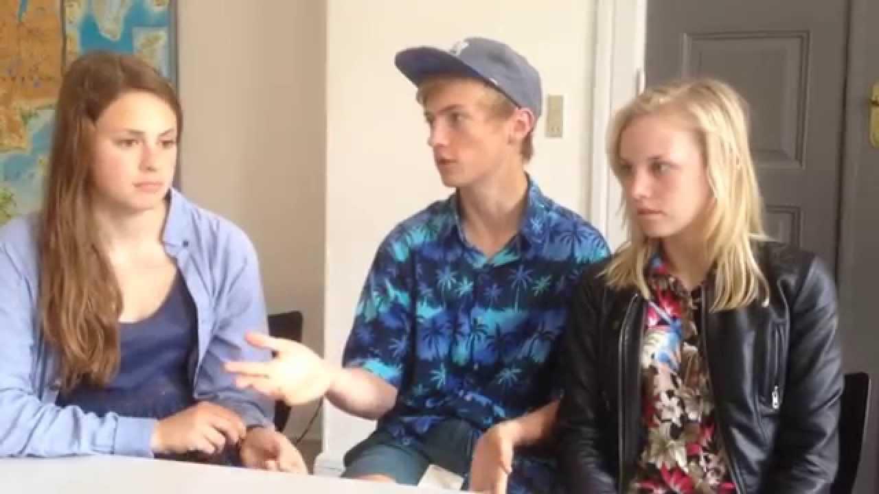 Elever fra Roskilde Gymnasium diskuterer innovation i et matemaikforløb