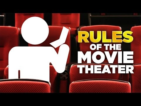 The Golden Rules of the Movie Theater