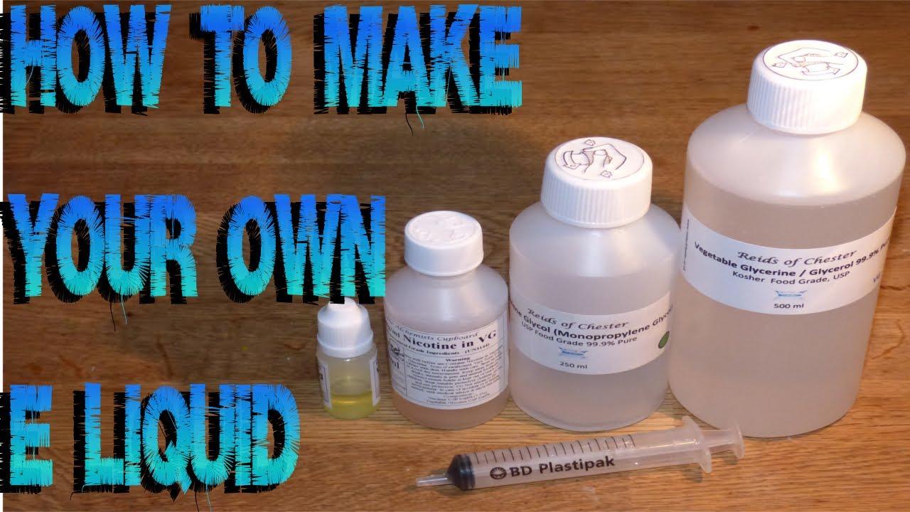Homemade Vaporizer Liquid Homemade Ftempo