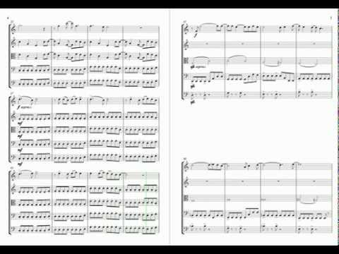 Muse - Starlight: for string quintet with sheet music score