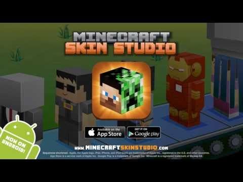 Minecraft Skin Studio - iOS and now Android!